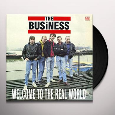 Business WELCOME TO THE REAL WORLD Vinyl Record