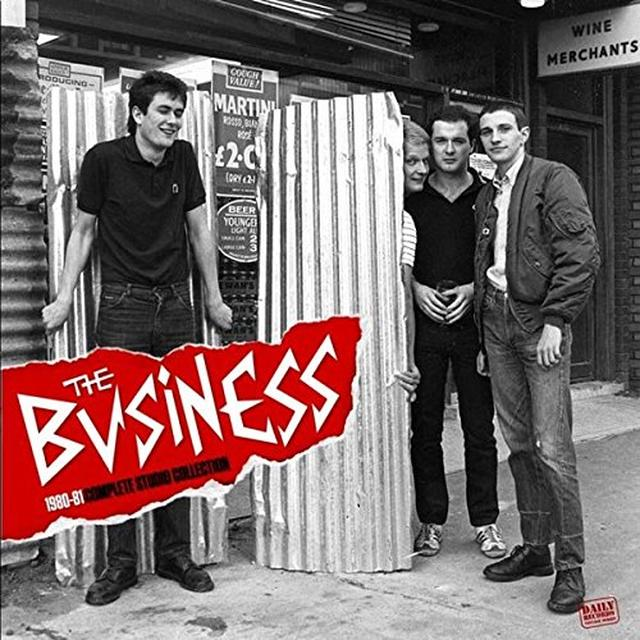 Business 1980-1981 COMPLETE STUDIO COLLECTION (GER) Vinyl Record