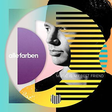 Alle Farben MUSIC IS MY BEST FRIEND Vinyl Record