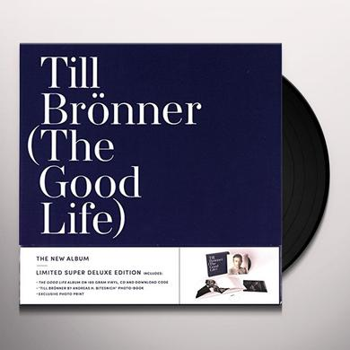 Till Bronner GOOD LIFE Vinyl Record - w/CD, Deluxe Edition, Holland Import