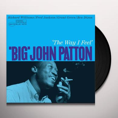 Big John Patton WAY I FEEL Vinyl Record