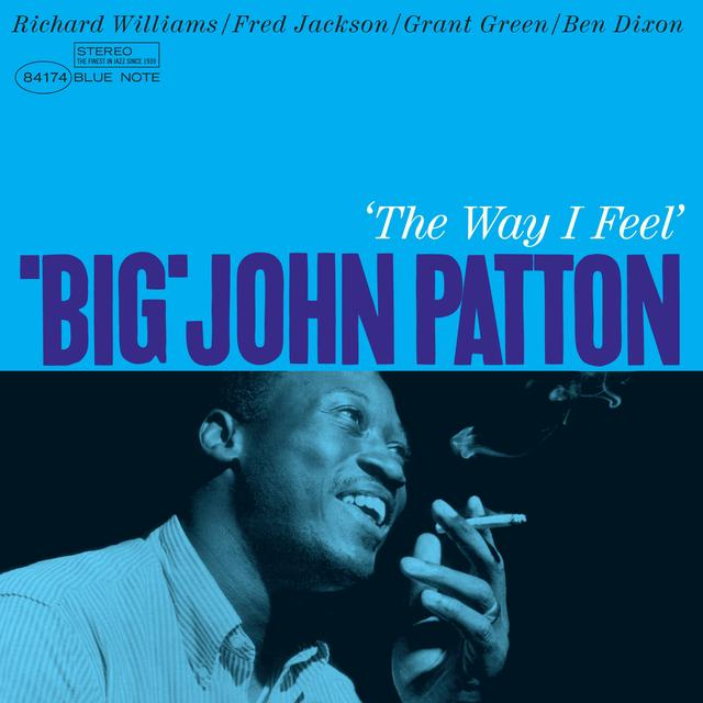 Big John Patton WAY I FEEL Vinyl Record - Spain Import