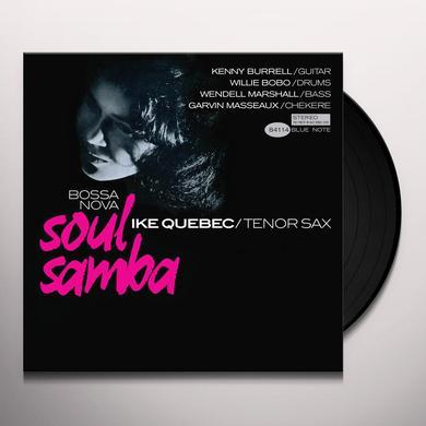 Ike Quebec BOSSA NOVA SOUL SAMBA Vinyl Record - Spain Import