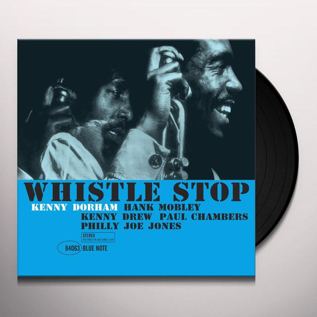 Kenny Dorham WHISTLE STOP Vinyl Record - Spain Import
