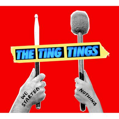 Ting Tings WE STARTED NOTHING Vinyl Record