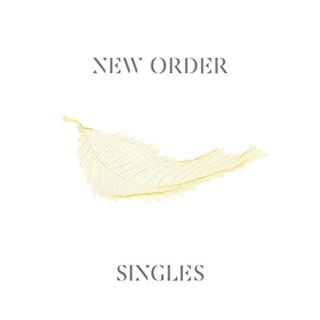 New Order SINGLES (2015 REMASTER) Vinyl Record - Remastered