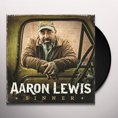 Aaron Lewis SINNER Vinyl Record - 180 Gram Pressing