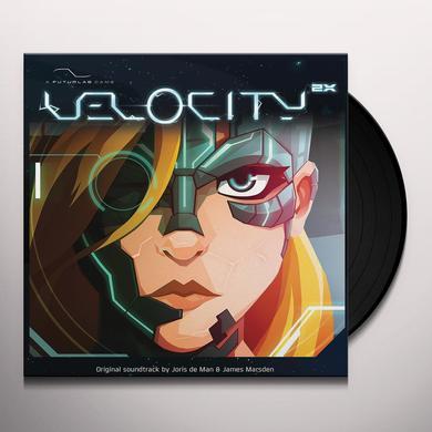 Joris De Man / James Marsden VELOCITY 2X / O.S.T. Vinyl Record