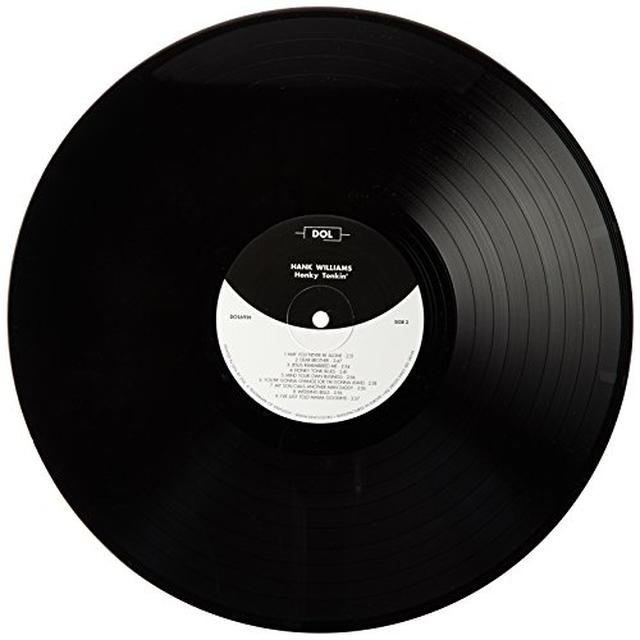 Hank Williams HONKY TONK Vinyl Record - UK Import