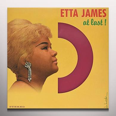 Etta James AT LAST Vinyl Record - Colored Vinyl, UK Import