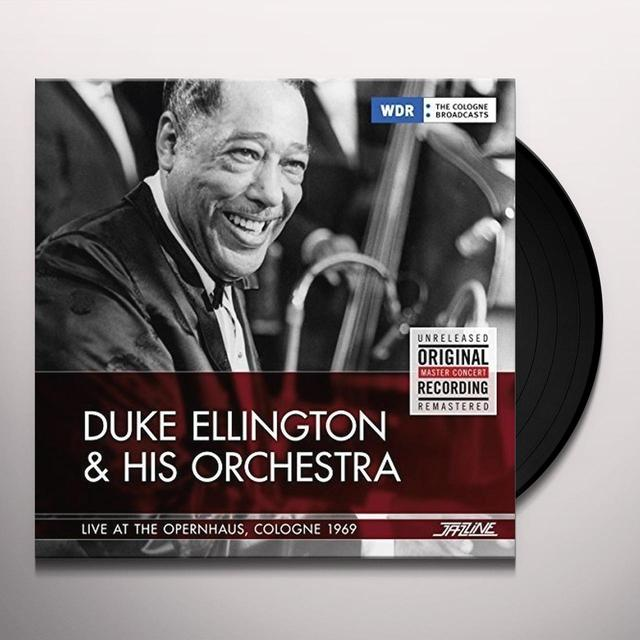 Duke Ellington LIVE AT THE OPERNHAUS COLOGNE 1969 Vinyl Record - Spain Import