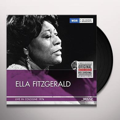 Ella Fitzgerald LIVE IN COLOGNE 1974 Vinyl Record - Spain Import