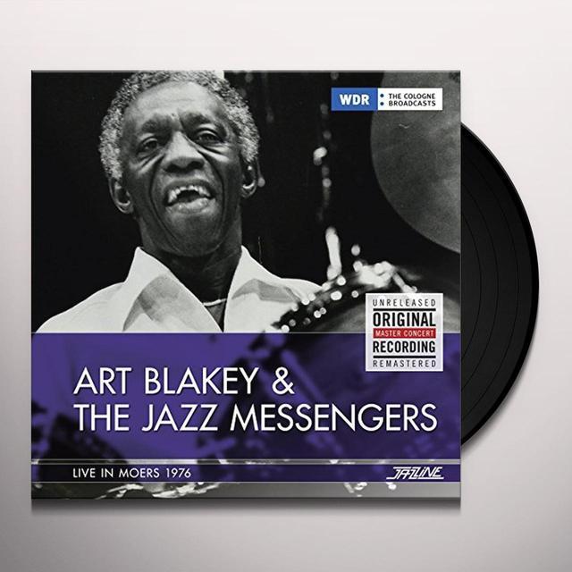 Art Blakey LIVE IN MOERS GERMANY 1976 Vinyl Record - Spain Import
