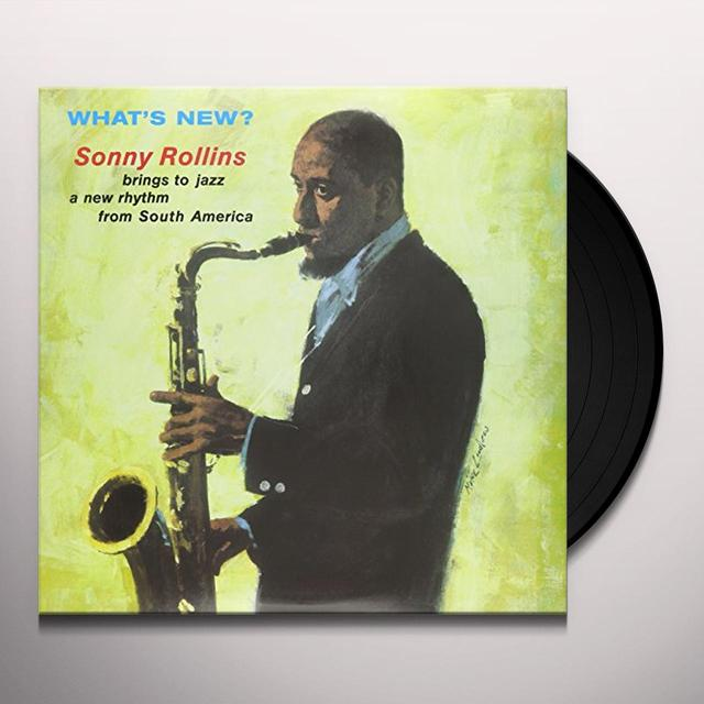 Sonny Rollins WHAT'S NEW Vinyl Record - UK Import