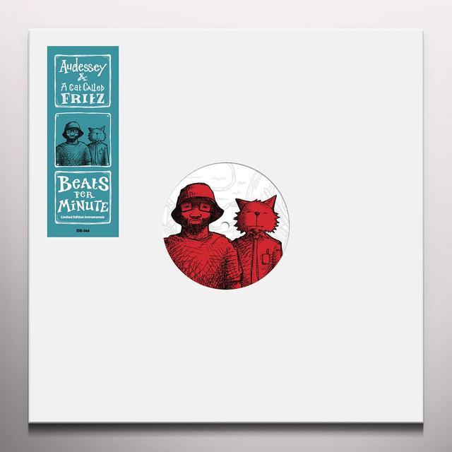 AUDESSEY & A CAT CALLED FRITZ BEATS PER MINUTE INSTRUMENTALS Vinyl Record - Colored Vinyl