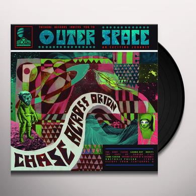 Outerspace CHASE ACROSS ORION Vinyl Record