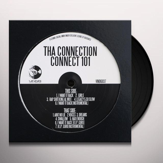 THA CONNECTION (HUS KINGPIN & SMOOVTH) CONNECT 101 (I WANT IT BACK) Vinyl Record