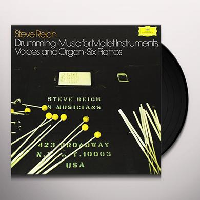 Steve Reich REICH: DRUMMING Vinyl Record - Limited Edition