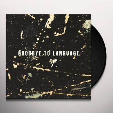 Daniel Lanois GOODBYE TO LANGUAGE Vinyl Record