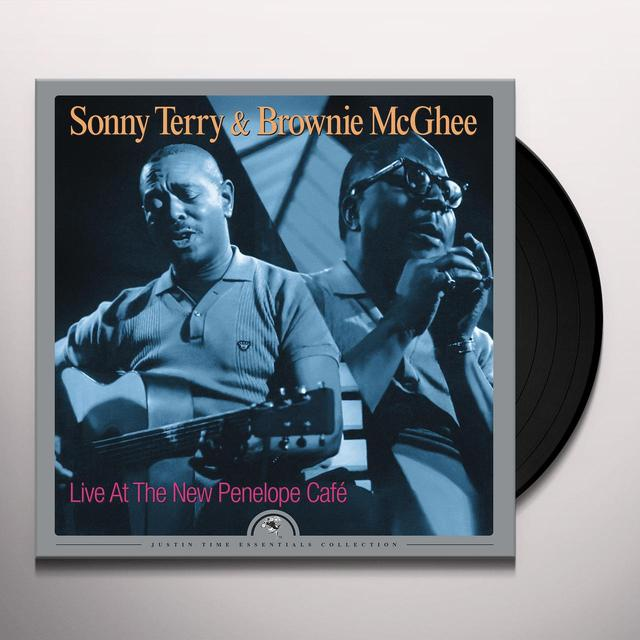 Sonny Terry & Brownie Mcghee LIVE AT THE NEW PENELOPE CAFE Vinyl Record - 180 Gram Pressing, Digital Download Included