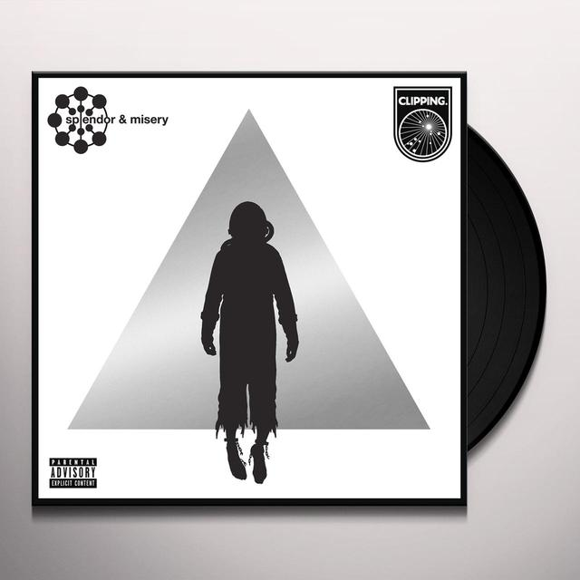 Clipping SPLENDOR & MISERY Vinyl Record - Digital Download Included