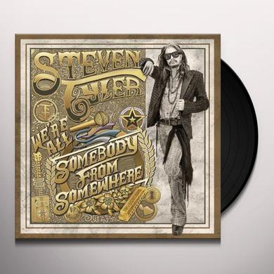 Steven Tyler WE'RE ALL SOMEBODY FROM SOMEWHERE Vinyl Record - 180 Gram Pressing