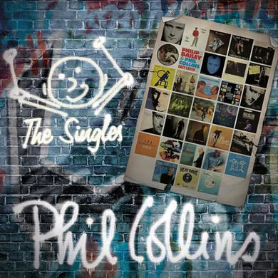 Phil Collins SINGLES Vinyl Record