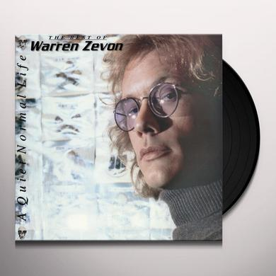 QUIET NORMAL LIFE: THE BEST OF WARREN ZEVON Vinyl Record