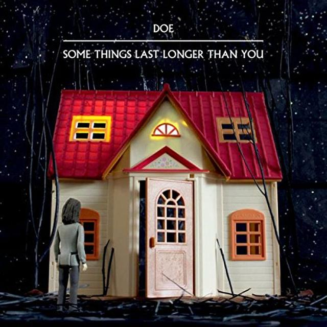 DOE SOME THINGS LAST LONGER THAN YOU Vinyl Record - Colored Vinyl, Red Vinyl