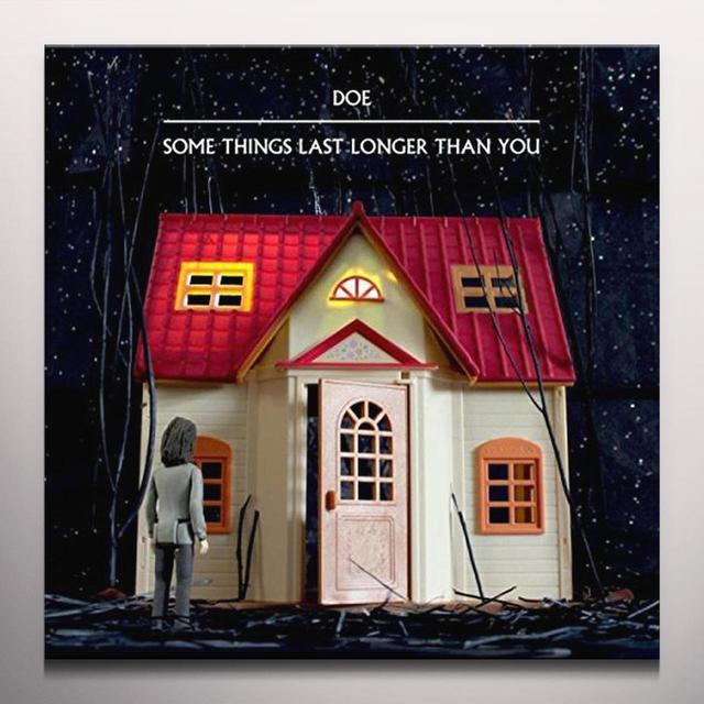 DOE SOME THINGS LAST LONGER THAN YOU Vinyl Record - Colored Vinyl, Red Vinyl