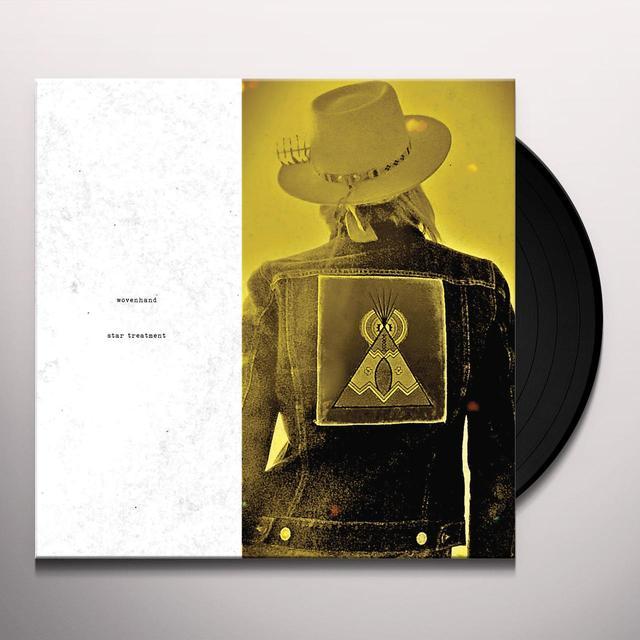 Wovenhand STAR TREATMENT Vinyl Record - Gatefold Sleeve, Digital Download Included