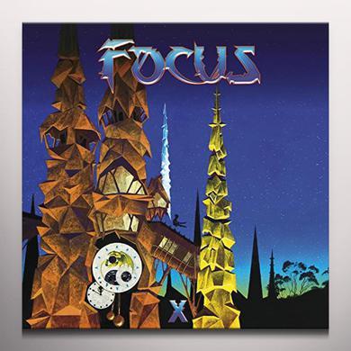Focus X. (BLUE VINYL) Vinyl Record - Blue Vinyl, Colored Vinyl, Gatefold Sleeve, 180 Gram Pressing, UK Import