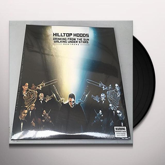 Hilltop Hoods DRINKING FROM THE SUN WALKING UNDER STARS RESTRUNG Vinyl Record
