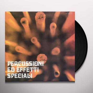Piero Umiliani PERCUSSIONI ED EFFETTI SPECIALI Vinyl Record - w/CD, Gatefold Sleeve