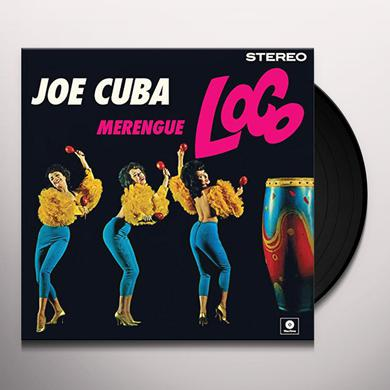 Joe Cuba MERENGUE LOCO Vinyl Record - Spain Import