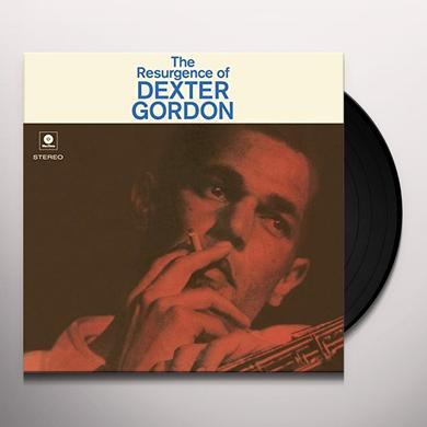 Dexter Gordon RESURGENCE OF Vinyl Record - Spain Release