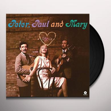 Peter Paul & Mary DEBUT ALBUM Vinyl Record - Spain Import