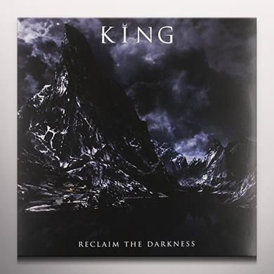 King RECLAIM THE DARKNESS (CLEAR BLUE VINYL) Vinyl Record - Blue Vinyl