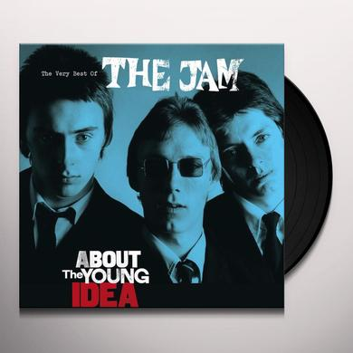 The Jam ABOUT THE YOUNG IDEA: VERY BEST OF Vinyl Record