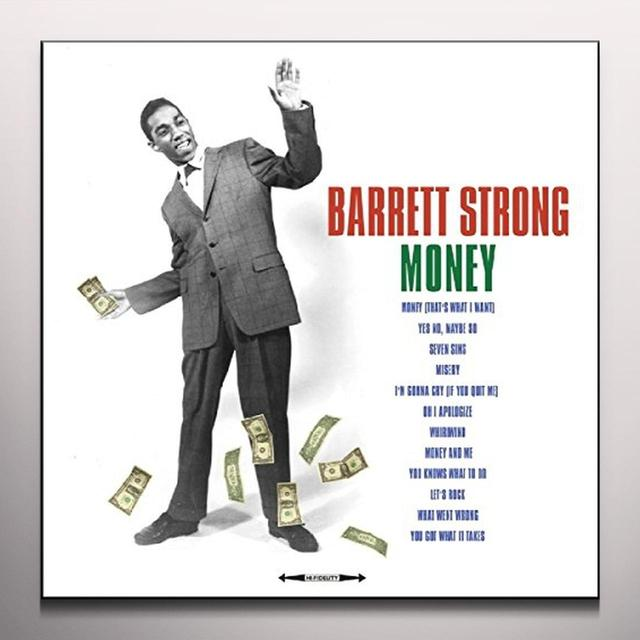 Barrett Strong VERY BEST OF (GREEN VINYL) Vinyl Record - Colored Vinyl, Green Vinyl, 180 Gram Pressing, UK Import
