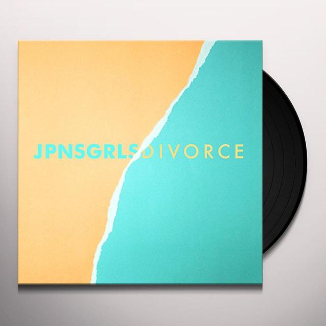 JPNSGRLS DIVORCE Vinyl Record - UK Import