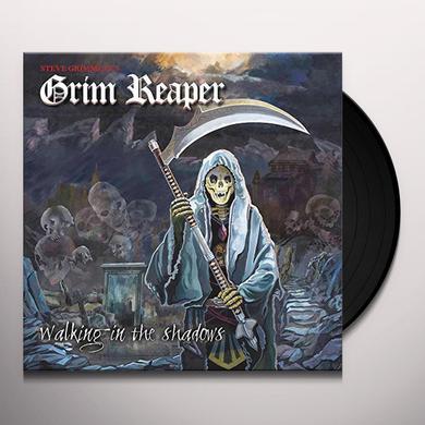 Grim Reaper WALKING IN THE SHADOWS Vinyl Record - UK Import