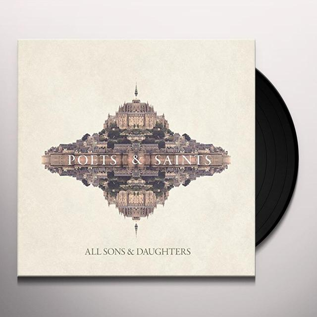 All Sons & Daughters POETS & SAINTS Vinyl Record - UK Import
