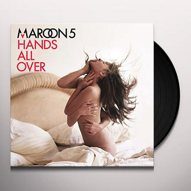 Maroon 5 HANDS ALL OVER Vinyl Record