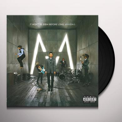 Maroon 5 IT WON'T BE SOON BEFORE LONG Vinyl Record