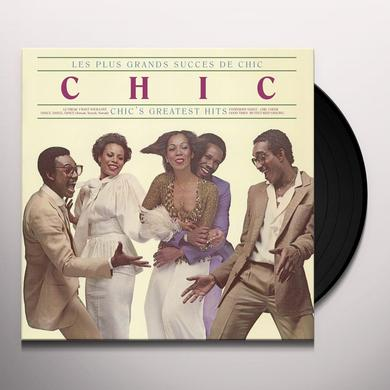 LES PLUS GRANDS SUCCES DE CHIC: CHIC'S GREATEST Vinyl Record