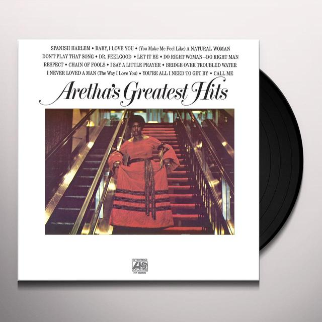 Aretha Franklin GREATEST HITS Vinyl Record