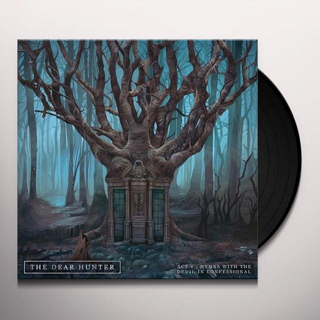 Dear Hunter ACT V: HYMNS WITH THE DEVIL IN CONFESSIONAL Vinyl Record - Gatefold Sleeve