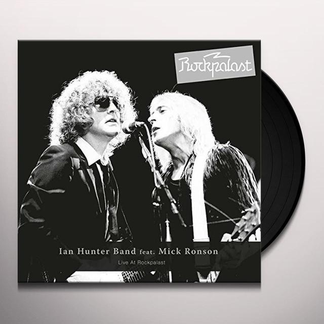 IAN HUNTER BAND LIVE AT ROCKPALAST Vinyl Record