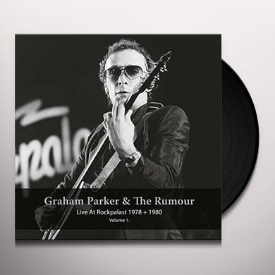 Graham Parker / Rumour LIVE AT ROCKPALAST 1978 & 1980 - VOL 1 Vinyl Record